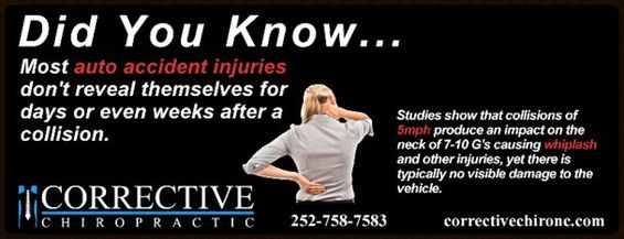 Whiplash Treatment For Car Accidents Greenville Nc
