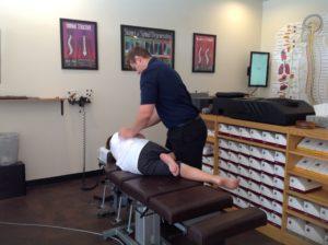chiropractor adjust