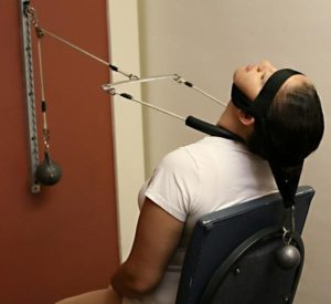 Cervical Seated 2-Way Compression at greenville, nc chiropractor