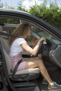 Bad posture and driving position