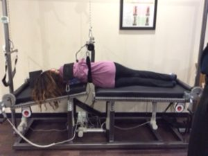 scoliosis traction